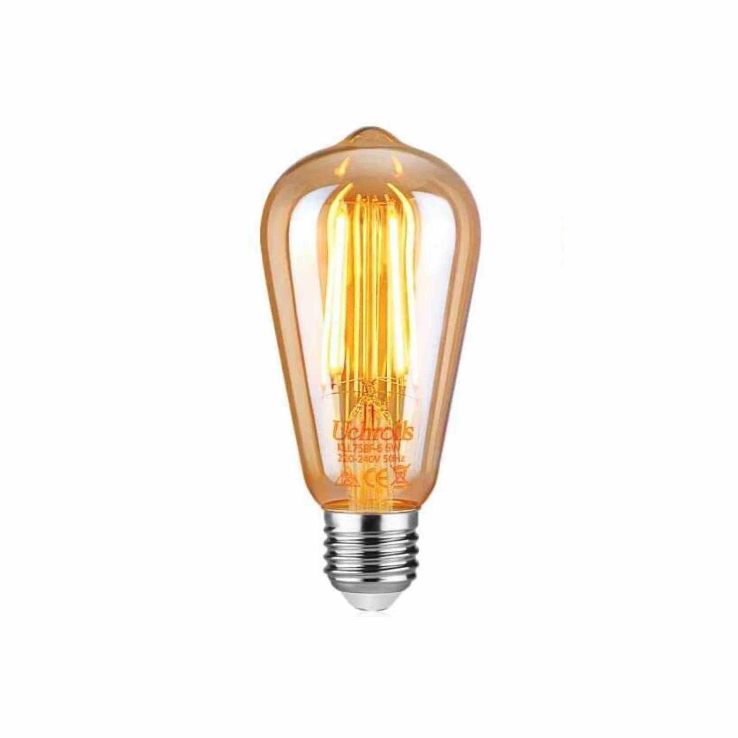 Bombilla de Filamento LED E27 6W