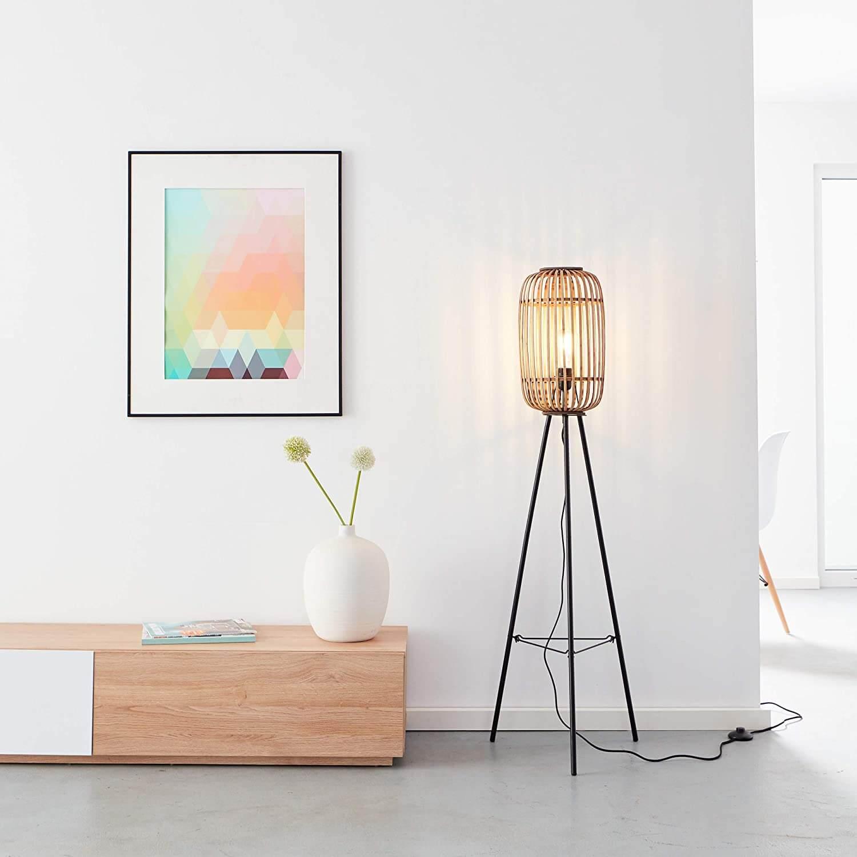 Lámpara de pie decorativa