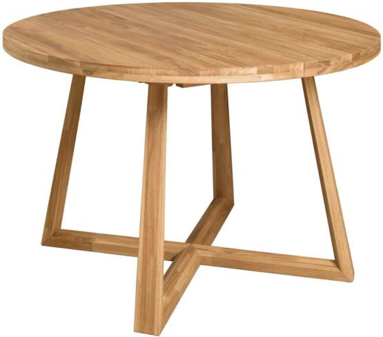 Mesa de comedor extensible patas cruzadas