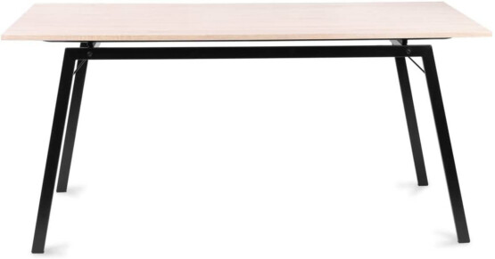 Mesa comedor patas metalicas frontal