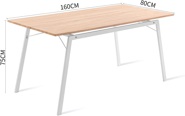 Mesa comedor patas metalicas medidas