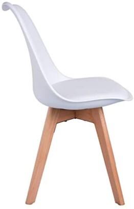 Silla comedor diseño escandinavo lateral