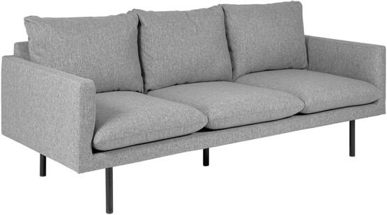Sofá de 3 plazas Tela Gris Claro Movian ELI