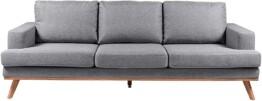 Sofa de 3 plazas Movian Rotsee frontal