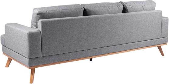 Sofa de 3 plazas Movian Rotsee trasera